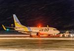 Cygnus00さんが、新千歳空港で撮影したAIR DO 737-781の航空フォト(写真)