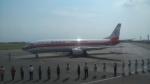 AlphaWing737ケインさんが、石垣空港で撮影した日本トランスオーシャン航空 737-446の航空フォト(写真)