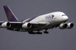 planetさんが、スワンナプーム国際空港で撮影したタイ国際航空 A380-841の航空フォト(写真)