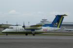 AlphaWing737ケインさんが、那覇空港で撮影した琉球エアーコミューター DHC-8-103Q Dash 8の航空フォト(写真)