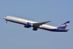 トロピカルさんが、成田国際空港で撮影したアエロフロート・ロシア航空 777-3M0/ERの航空フォト(写真)