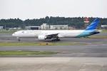 kumagorouさんが、成田国際空港で撮影したガルーダ・インドネシア航空 777-3U3/ERの航空フォト(写真)
