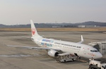 だいまる。さんが、岡山空港で撮影した日本トランスオーシャン航空 737-8Q3の航空フォト(写真)