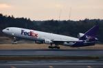 ハスキーさんが、成田国際空港で撮影したフェデックス・エクスプレス MD-11Fの航空フォト(写真)