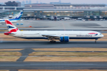 KAMIYA JASDFさんが、羽田空港で撮影したブリティッシュ・エアウェイズ 777-36N/ERの航空フォト(写真)