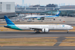 KAMIYA JASDFさんが、羽田空港で撮影したガルーダ・インドネシア航空 777-3U3/ERの航空フォト(写真)