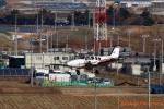 湖景さんが、仙台空港で撮影した航空大学校 Baron G58の航空フォト(写真)