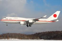 たみぃさんが、千歳基地で撮影した航空自衛隊 747-47Cの航空フォト(飛行機 写真・画像)
