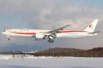 たみぃさんが、千歳基地で撮影した航空自衛隊 777-3SB/ERの航空フォト(写真)