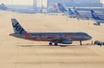 ガス屋のヨッシーさんが、関西国際空港で撮影したジェットスター・アジア A320-232の航空フォト(写真)
