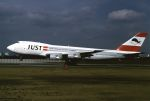 ITM58さんが、伊丹空港で撮影した日本ユニバーサル航空 747-221F/SCDの航空フォト(写真)
