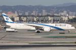 masa707さんが、ロサンゼルス国際空港で撮影したエル・アル航空 787-9の航空フォト(写真)