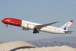 masa707さんが、ロサンゼルス国際空港で撮影したノルウェー・エアシャトル・ロングホール 787-9の航空フォト(写真)
