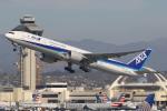 masa707さんが、ロサンゼルス国際空港で撮影した全日空 777-381/ERの航空フォト(写真)