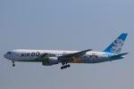 スカイチームKMJ なぁちゃんさんが、羽田空港で撮影したAIR DO 767-381の航空フォト(写真)
