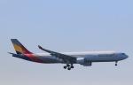 スカイチームKMJ なぁちゃんさんが、羽田空港で撮影したアシアナ航空 A330-323Xの航空フォト(写真)