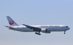 スカイチームKMJ なぁちゃんさんが、羽田空港で撮影した日本航空 767-346の航空フォト(写真)
