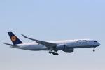 スカイチームKMJ なぁちゃんさんが、羽田空港で撮影したルフトハンザドイツ航空 A350-941XWBの航空フォト(写真)