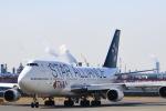 スカイチームKMJ なぁちゃんさんが、羽田空港で撮影したタイ国際航空 747-4D7の航空フォト(写真)