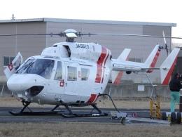 ミルハスさんが、某所で撮影した東北エアサービス BK117B-2の航空フォト(飛行機 写真・画像)