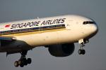 幻想航空 Air Gensouさんが、成田国際空港で撮影したシンガポール航空 777-312/ERの航空フォト(写真)