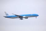 garrettさんが、台湾桃園国際空港で撮影したKLMオランダ航空 777-306/ERの航空フォト(写真)