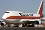 ちゅういちさんが、横田基地で撮影したカリッタ エア 747-4B5(BCF)の航空フォト(写真)