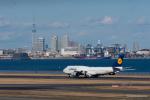 みなかもさんが、羽田空港で撮影したルフトハンザドイツ航空 747-830の航空フォト(写真)