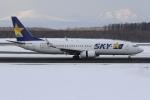 sky-spotterさんが、新千歳空港で撮影したスカイマーク 737-8HXの航空フォト(写真)