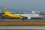 遠森一郎さんが、福岡空港で撮影したバニラエア A320-214の航空フォト(写真)