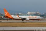 遠森一郎さんが、福岡空港で撮影したチェジュ航空 737-8ALの航空フォト(写真)