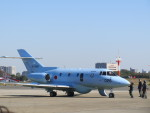 hrjさんが、入間飛行場で撮影した航空自衛隊 U-125A(Hawker 800)の航空フォト(写真)