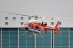 kaeru6006さんが、東京ヘリポートで撮影した新日本ヘリコプター 427の航空フォト(写真)