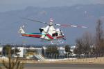 Jin Bergqiさんが、松本空港で撮影したユーロテックジャパン 412EPの航空フォト(写真)
