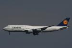 チャーリーマイクさんが、羽田空港で撮影したルフトハンザドイツ航空 747-830の航空フォト(写真)