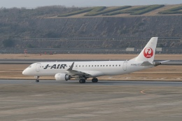 pringlesさんが、長崎空港で撮影したジェイ・エア ERJ-190-100(ERJ-190STD)の航空フォト(写真)