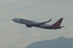 pringlesさんが、香港国際空港で撮影したスパイスジェット 737-8-MAXの航空フォト(写真)