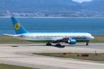 John Doeさんが、関西国際空港で撮影したウズベキスタン航空 767-33P/ERの航空フォト(写真)