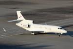 ハム太郎。さんが、羽田空港で撮影した金鹿航空 Falcon 7Xの航空フォト(写真)