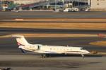 ハム太郎。さんが、羽田空港で撮影したAvcon ジェット G500/G550 (G-V)の航空フォト(写真)