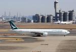 ハム太郎。さんが、羽田空港で撮影したキャセイパシフィック航空 777-367の航空フォト(写真)