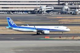 ハム太郎。さんが、羽田空港で撮影した全日空 A321-272Nの航空フォト(写真)