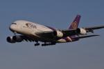 Cスマイルさんが、成田国際空港で撮影したタイ国際航空 A380-841の航空フォト(写真)