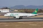 神宮寺ももさんが、高松空港で撮影した春秋航空 A320-214の航空フォト(写真)