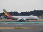SKY☆MOTOさんが、成田国際空港で撮影したアシアナ航空 A380-841の航空フォト(写真)