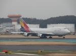 SKY☆MOTOさんが、成田国際空港で撮影したアシアナ航空 747-48EMの航空フォト(写真)
