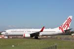 安芸あすかさんが、シドニー国際空港で撮影したヴァージン・オーストラリア 737-8FEの航空フォト(写真)