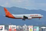 SKY☆101さんが、福岡空港で撮影したチェジュ航空 737-82Rの航空フォト(写真)