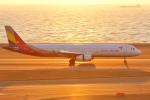 アイトムさんが、中部国際空港で撮影したアシアナ航空 A321-231の航空フォト(写真)
