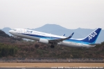 tabi0329さんが、長崎空港で撮影した全日空 737-8ALの航空フォト(写真)
